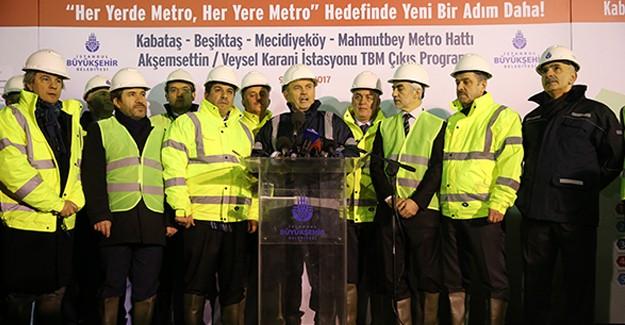 8 ilçeyi birbirine bağlayan metro hattı 2018 yılının son çeyreğinde tamamlanacak!