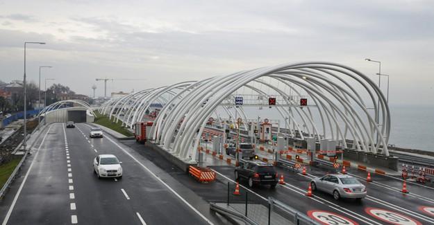 Avrasya Tüneli'nden geçen araç sayısı kısa sürede 1 milyonu aştı!