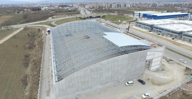 Osmangazi Atletizm Salonu'nun inşaatı tüm hızıyla devam ediyor!
