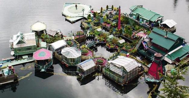 Kanada'lı çift kendi adasını yaptı!
