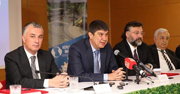 Kepez-Santral kentsel dönüşüm projesinde Sur Yapı ile sözleşme imzalandı!