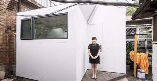 Pekin'de Çinli kadın 1 günde 35 bin TL'ye yeni evine kavuştu!