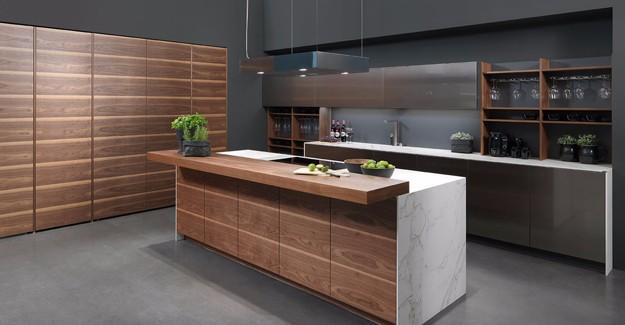 Mutfakta ahşap ve paslanmaz çelik uyumunu yakalayın!