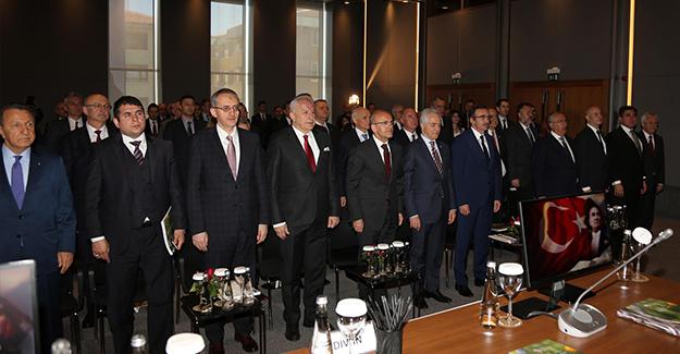 Mithat Yenigün Türkiye Müteahhitler Birliği'ne yeniden başkan seçildi!