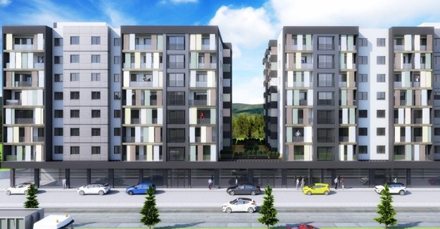 The Terrace Çanakkale Mim Proje imzasıyla yükseliyor!