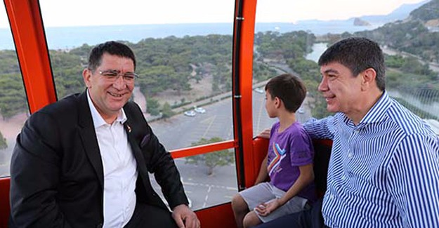 Antalya Tünektepe Teleferik ve Sosyal Tesisler 14 milyon TL'ye yenilendi!
