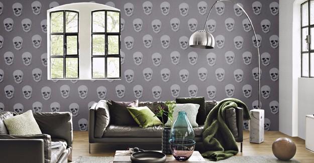 Duvar kağıdında Rock'n Roll ruhu evlerde!