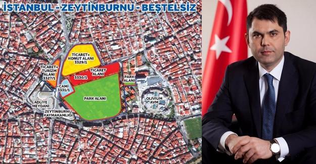 Emlak Konut Zeytinburnu Beştelsiz ihalesine 8 teklif geldi!