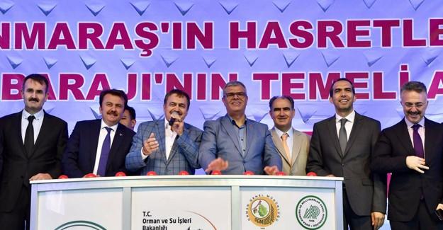 Kahramanmaraş'ta 16 tesisin temeli atıldı!