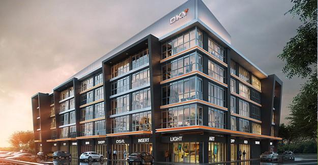 Kartal'a yeni ofis projesi; Deluxia Park Business