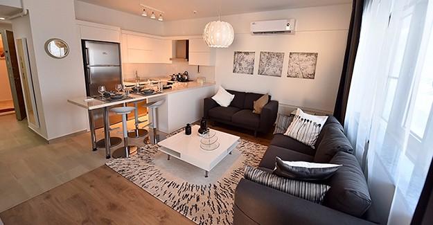 İzmir Uzundure Kentsel Dönüşüm Projesi'nin örnek daireleri tamamlandı!