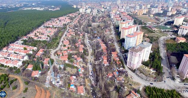 Ankara Çaldağ, Gümüşdere ve Şirindere'de kentsel dönüşüm başlıyor!