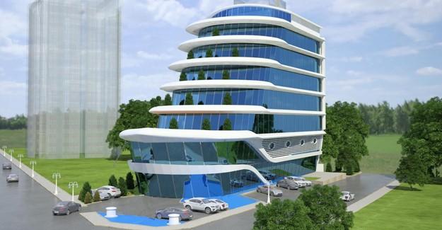 Lüks bir yatı andıran mimariye sahip ofis projesi; Royal Marin Business Center