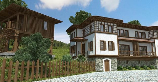 Yöresel mimari ile ev yapana kredi desteği geliyor!