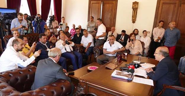 Başkan Gümrükçüoğlu, Trabzon'un projelerinin anlattı!