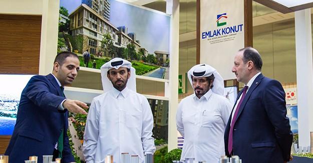 Emlak Konut Dubai'de 50 projesini tanıtıyor!