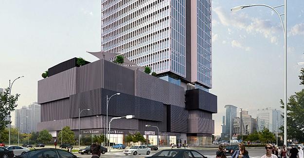 İzmir'e yeni proje; Megapol Çarşı Kule