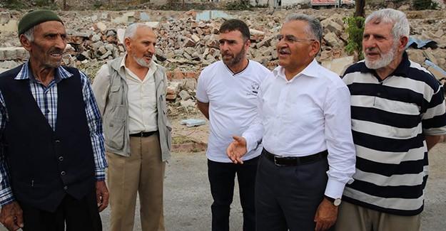 Kayseri Melikgazi Battalgazi Mahallesi'nde kentsel dönüşüm çalışmaları başladı!