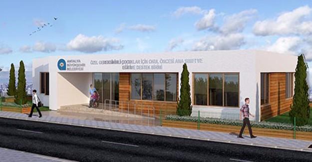 Türkiye'ye örnek olacak Engelli Mola Evleri Projesi Antalya'da yükseliyor!