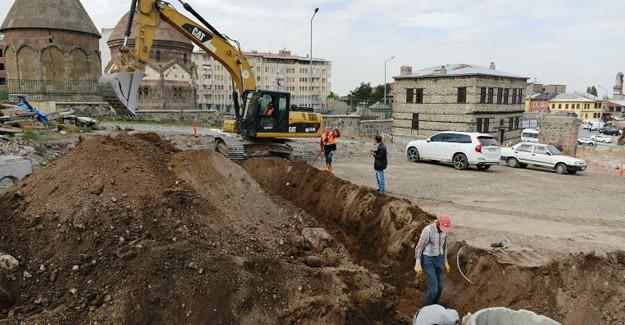 Erzurum Yakutiye Üç Kümbetler kentsel dönüşüm projesinde çalışmalar sürüyor!