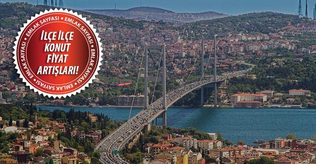 İstanbul konut fiyat artışında Türkiye'nin en pahalısı!