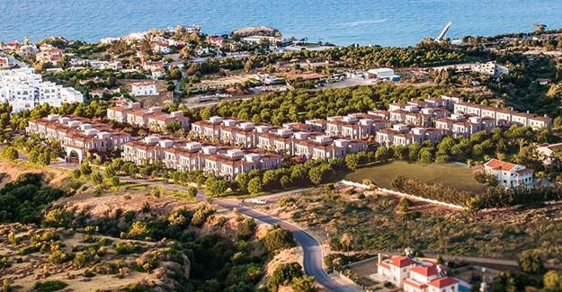 Kıbrıs Town Houses'ten kira öder gibi ev sahibi olunuyor!