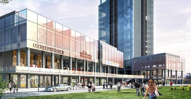 Osmangazi'ye yeni ofis projesi; Sky Tower Bursa projesi