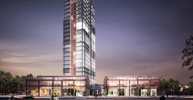 Sky Group'tan Osmangazi'ye yeni ofis projesi; Sky Tower Bursa projesi