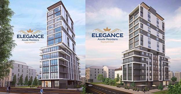 Elegance Asude Rezidans / İstanbul Avrupa / Küçükçekmece