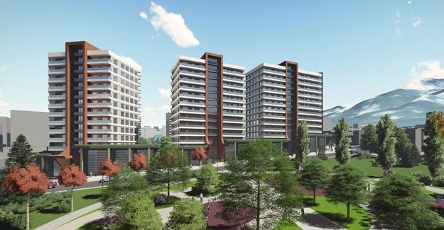 İşte Bursa Yıldırım kentsel dönüşüm projeleri ve görselleri!