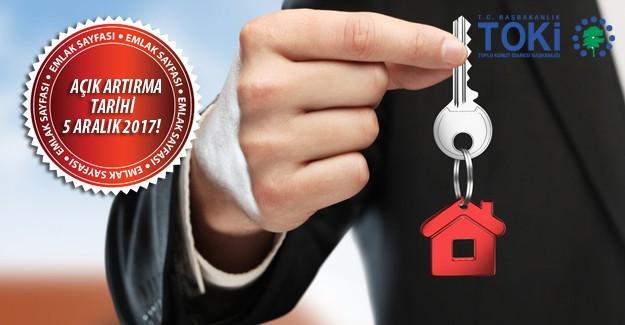 TOKİ 30 ilde 298 taşınmazı açık artırma ile satışa çıkarıyor!