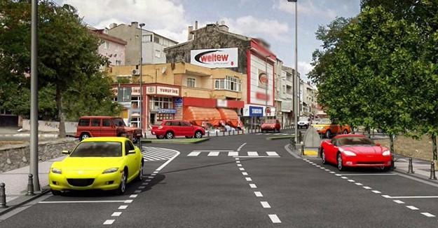 Eyüpsultan Belediyesi Cengiz Topel Caddesi'ni yenileyecek!