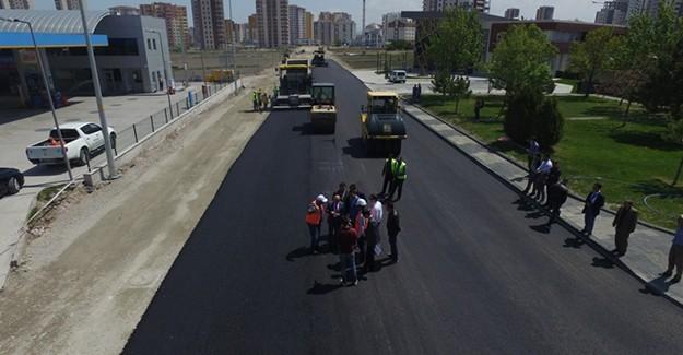 Kayseri Kocasinan Belediyesi 2017 yılında 260 Bin ton asfalt kullandı!