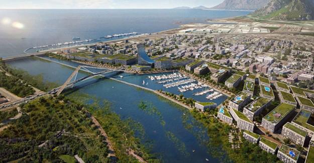 İşte Kanal İstanbul'la oluşacak olan İstanbul'un yeni altın üçgeni!