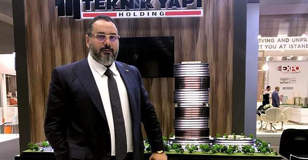 Teknik Yapı Halk GYO İzmir projesi Katar Fuarı'nda görücüye çıktı!