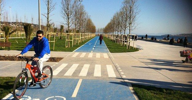 2023'e kadar İstanbul'a 1.100 km bisiklet yolu yapılacak!