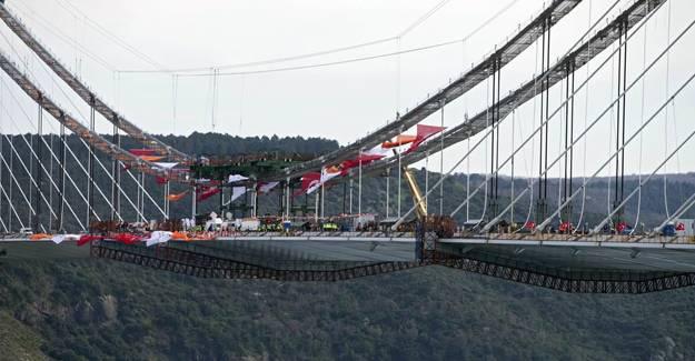 3. Boğaz Köprüsü 1012 günde bitti!