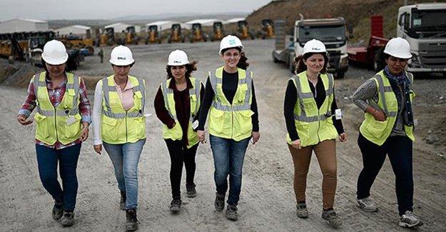 3. Havalimanı'nda 162 kadın çalışıyor!