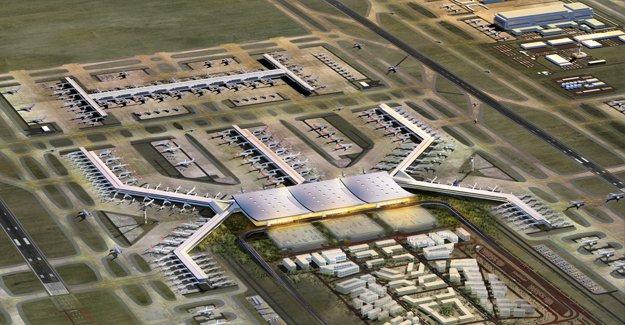 3. Havalimanı Projesi 4 etapta tamamlanacak!