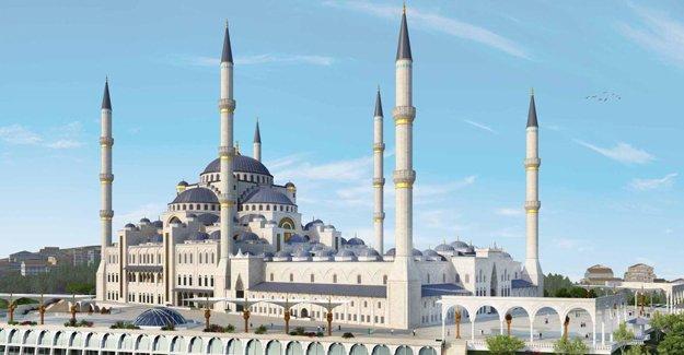 6 minareli Çamlıca Camii Kadir Gecesi'nde ibadete açılacak!
