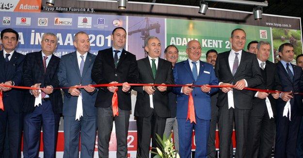 Adana inşaat fuarı bugün başladı!