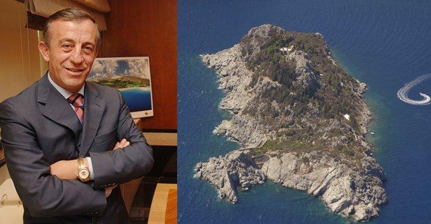 Ali Ağaoğlu Çiftlik Adası'nı satın aldı
