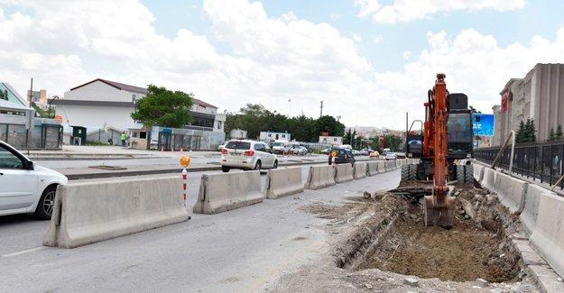 Ankara Celal Bayar Bulvarı'nda yeni trafik düzeni!