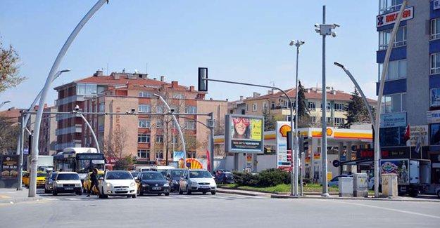 Ankara'da akıcı trafik için teknolojik uygulamalar!