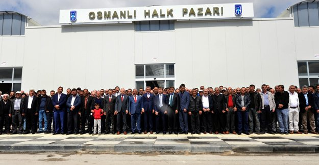 Ankara'da Osmanlı Halk Pazarı'nın yapımı tamamlandı!