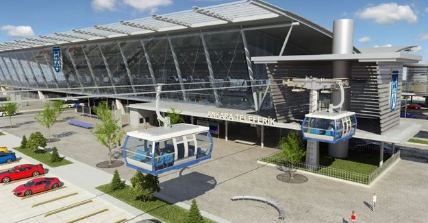 Ankara Esenboğa'ya teleferik ve metro geliyor!