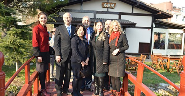 Başkonsolos Ehara Nilüfer Japon Parkı'na hayran kaldı!