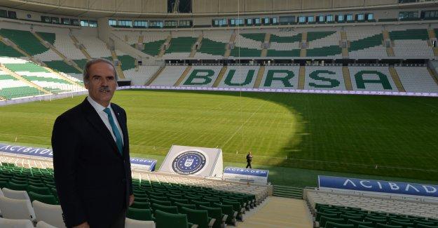 Bursa Büyükşehir Stadyumu açılıyor!