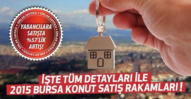 Bursa'da konut satışları geçen yıla göre yüzde 18 arttı!