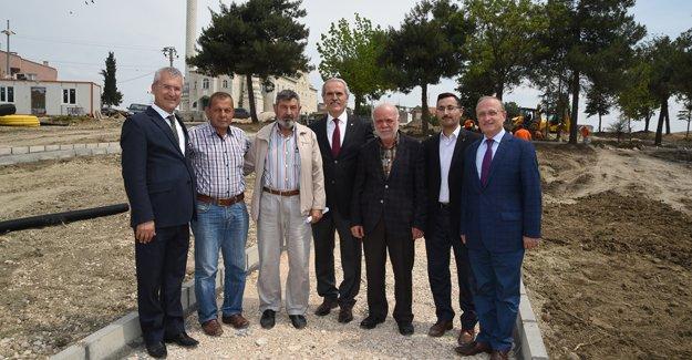 Bursa'da Minareliçavuş kentsel tasarım başlıyor!